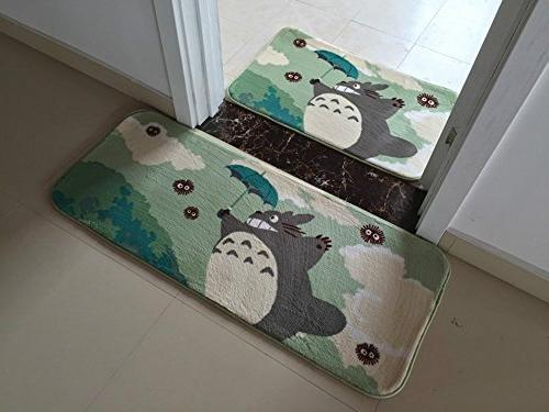 Sytian® Soft Non-slip My Totoro Carpet Bedroom Mat Shower