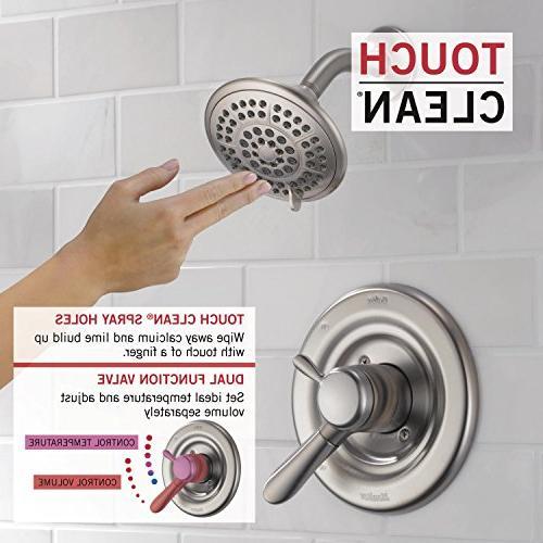 Delta Faucet 17 Series Dual-Function Shower Kit Shower T17238-SS