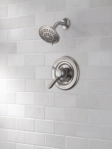 Delta Faucet Series Dual-Function Kit Touch-Clean Shower Head,