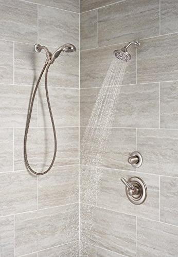 Delta Lahara 17 Series Dual-Function Shower Kit Shower Head,