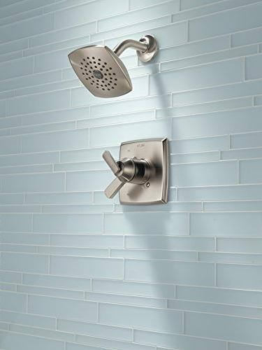 Delta Ashlyn Series Shower Trim Kit with Single-Spray Clean Shower Stainless T17264-SS