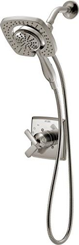 Delta Ashlyn 17 Series Dual-Function Kit In2ition 2-in-1 Hand Shower Head with Hose, Stainless T17264-SS-I
