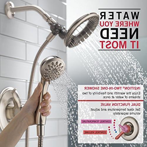 Delta Faucet Series Shower Trim 2-Spray Held Shower Hose, Chrome