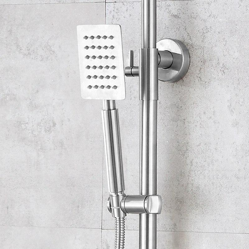 The 304 steel <font><b>shower</b></font> <font><b>panel</b></font> high-end cold and hot