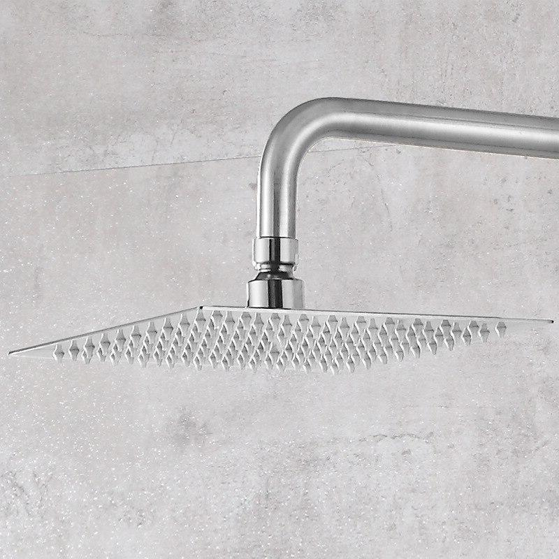 The 304 stainless steel <font><b>panel</b></font> <font><b>shower</b></font> high-end <font><b>shower</b></font> faucet nozzle cold mixer