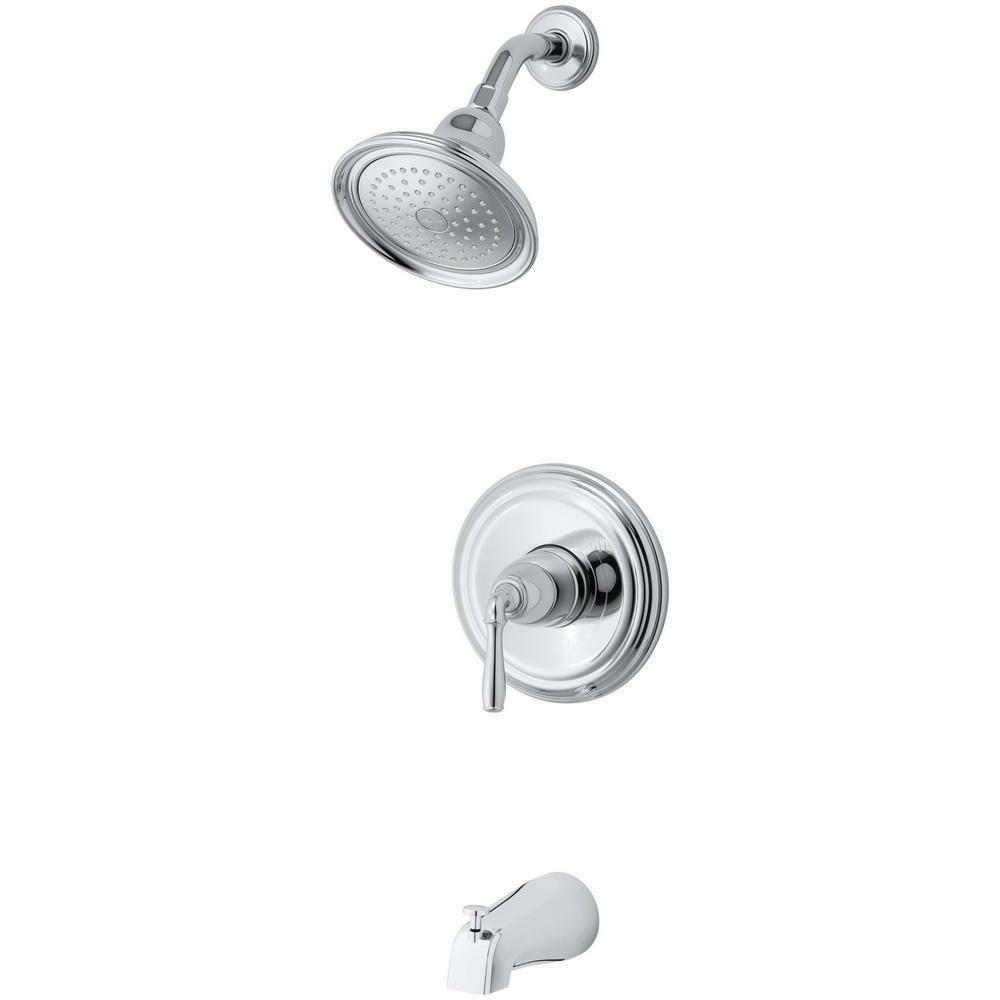 ts395 4 cp devonshire polished chrome bath