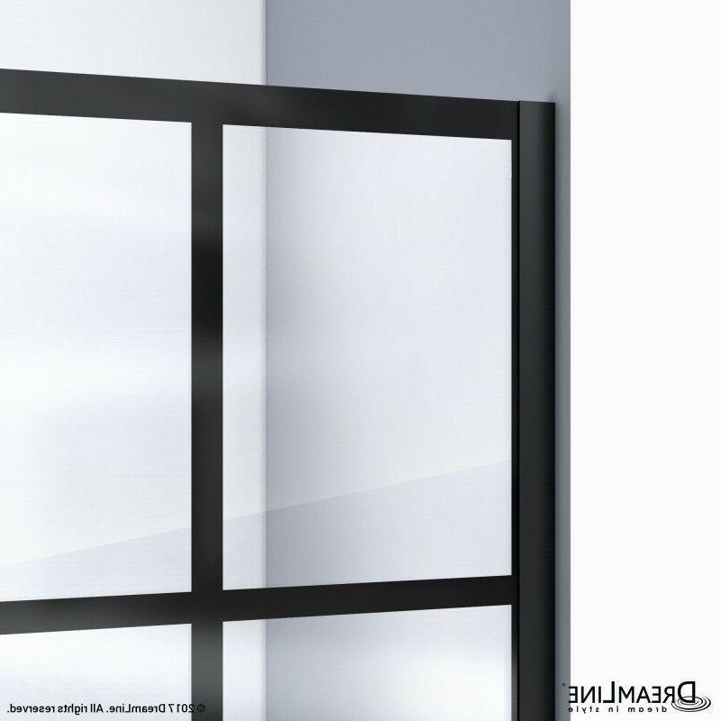 DREAMLINE 1/2 x 72 SHOWER 3/8 BLACK