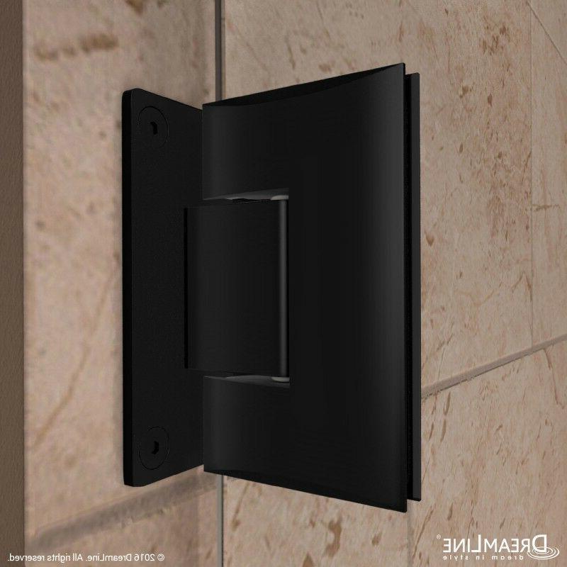 DREAMLINE 58-58 1/2 SHOWER DOOR 3/8 BLACK
