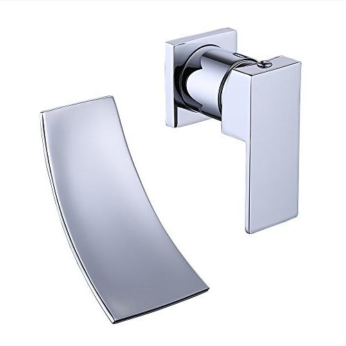 wall mount bathroom faucet waterfall
