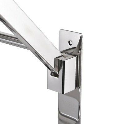 Foldable Stainless Steel Towel Rack Bar