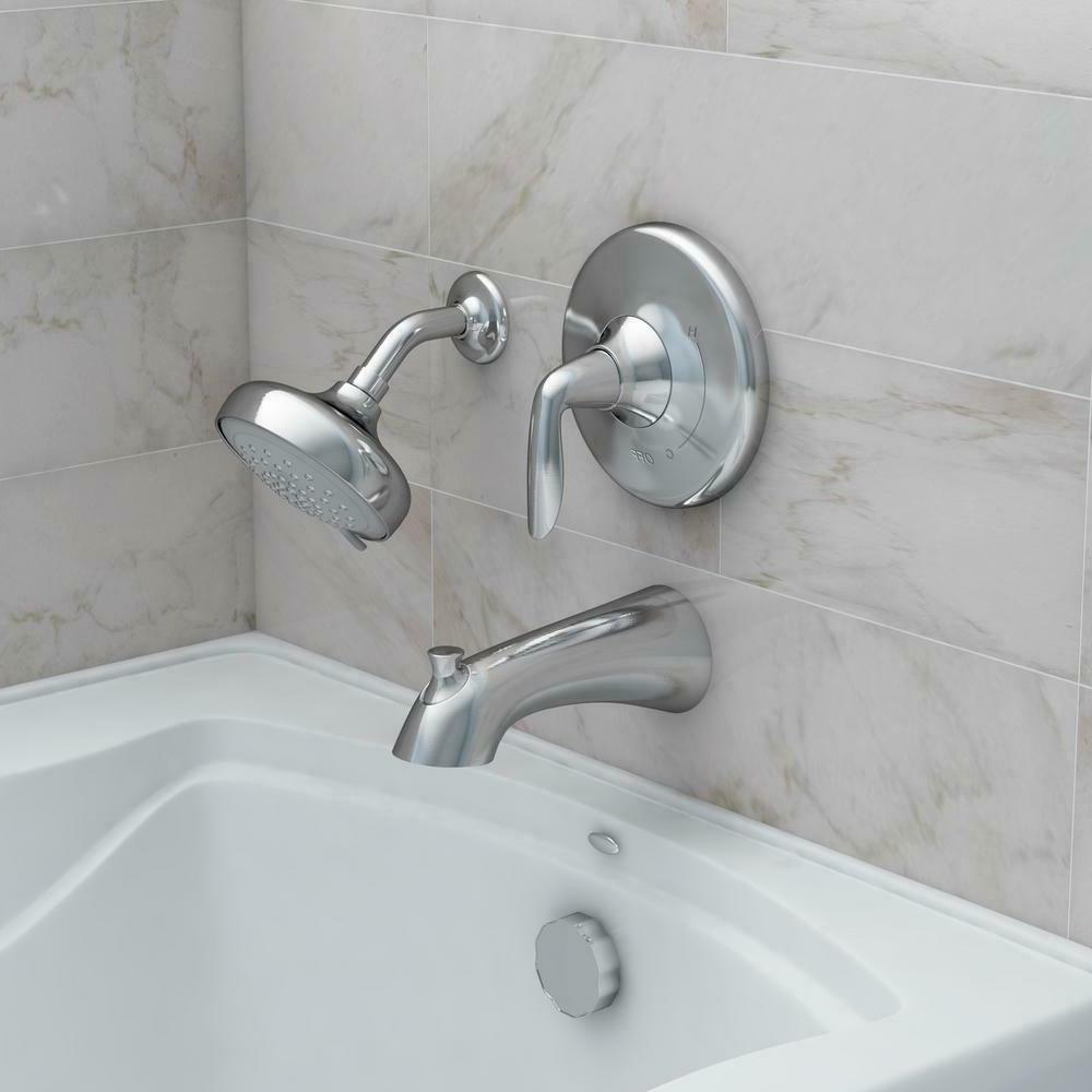 Kohler Willamette Bath/Shower Handle - Spray Finish