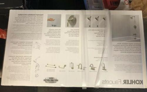 Kohler Single-Handle Kit R76258-4E-BN