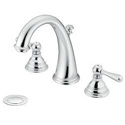 Moen Lavatory Faucet - Widespread Kingsley T6125