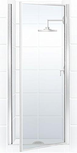 Coastal Shower Doors Legend Series Framed Hinge Shower Door