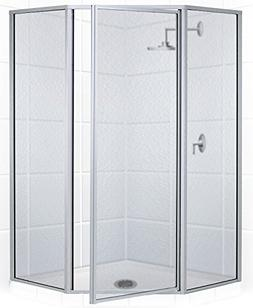 Coastal Shower Doors Legend Series Framed Neo-Angle Swing Sh