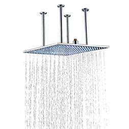 Rozin LED Light 20-inch Rainfall Shower Head Ceiling Mounted
