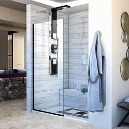 DreamLine Linea Single Panel Frameless Shower Screen 34 in.
