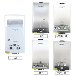 LPG/NG 1.6/2/3.2/5GPM Hot Water Heater Stainless Tankless Bo