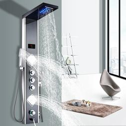 Luxury Thermostatic Control Fold-able <font><b>Shower</b></f