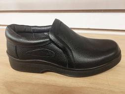 Men's Restaurant Oil Resistant Kitchen Work Shoes Leather sh