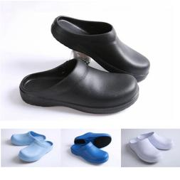 Men Women Chef Shoes In Kitchen Nonslip Safety Shoes Oil & W