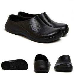 Men Women Chef Shoes In Kitchen Safety Flats Loafers Oil & W