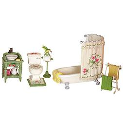 Miniature Hummingbird Bathroom Set - 5 Piece Set Includes Ba