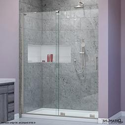 DreamLine Mirage-X 44-48 in. Width, Frameless Sliding Shower