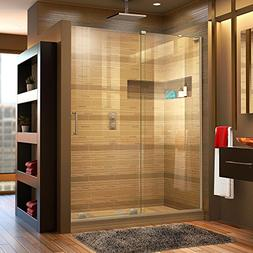 DreamLine Mirage-X 56-60 in. Width, Frameless Sliding Shower