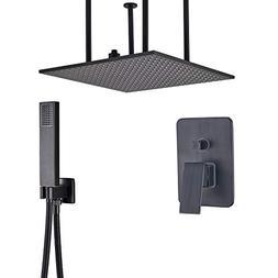 Rozin 2-way Mixer Control Shower Faucet Combo Ceiling Mounte