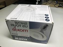 Kohler Moxie Bluetooth Speaker Chrome Shower Head