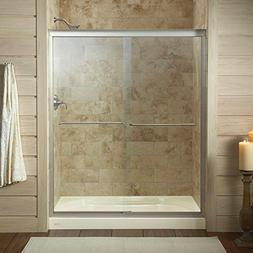 KOHLER 702206-L-MX Fluence Frameless Bypass Shower Door