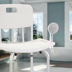 New Adjustable Medical Shower Chair Bath Tub Bench Stool Sea
