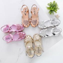 New Baby Sandals Kids Girls Fashion Sandals Toddler Princess