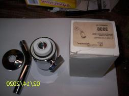 NEW Vintage Moen 3GPM CHROME Solid Brass Shower Head NOS