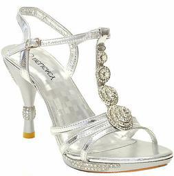 New women's shoes stilettos rhinestones party formal wedding