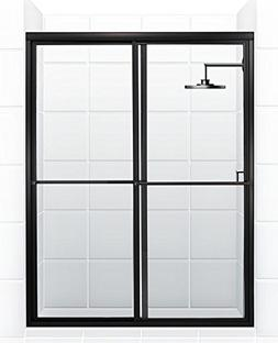 Coastal Shower Doors Newport Series Framed Sliding Shower Do