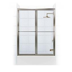Coastal Shower Doors Newport Series Framed Sliding Tub Door