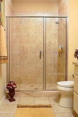 NIB Elegant BASCO Infinity 1713 SHOWER DOOR (Oil-Rubbed