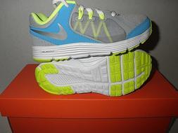 NIB NIKE: Lunar Forever 3  Shoes for Girls. 12C, Grey/Silver