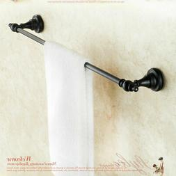 Oil Rubbed Bronze Bath Towel Holder Shelf Wall Mounted Towel