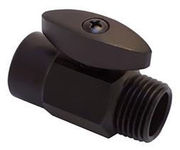 Oil Rubbed Bronze Solid Brass shower arm volume flow control