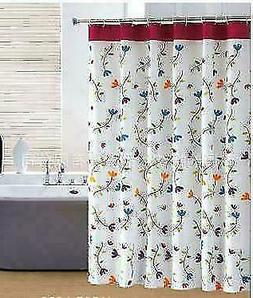 Orchid Thick Waterproof Bathroom Shower Curtain Polyester Ba