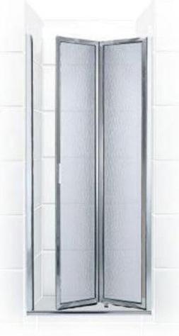 Coastal Shower Doors Paragon Series Framed Bi-Fold Double Hi