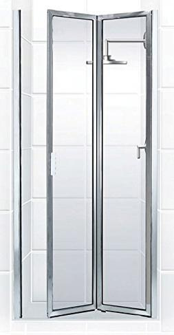 Coastal Shower Doors Paragon Series Framed Bi-Fold Double Hi