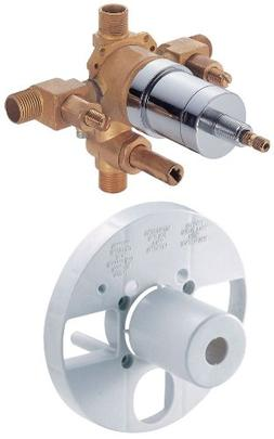 Pressure Balance Mixing Valve with Diverter and Stops