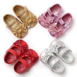 Princess Baby Shoes Soft Anti-skid PU Leather Shoe For Infan