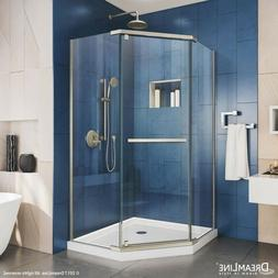 "DreamLine Prism 34 1/8"" x 34 1/8"" Frameless Shower Enclosure"