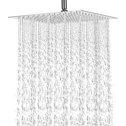 12 Inch Rain Shower Head, NearMoon High Pressure Stainless S