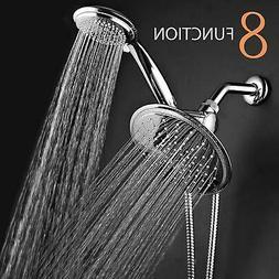Rainfall Shower Head With Handheld Bathroom Fixture Accessor